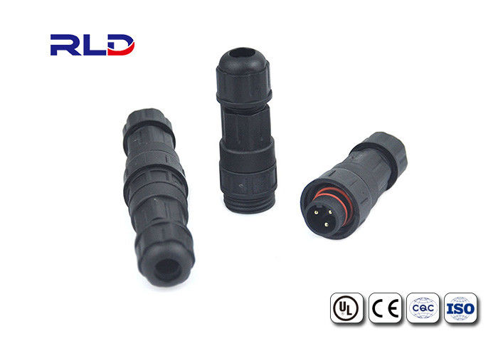 Waterproof Sealed Circular Connectors Electrical Connectors 3Pin Male And Female Connector
